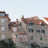 Houses in Split Royalty Free Stock Photos