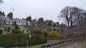 Houses in St Andrews Royalty Free Stock Images