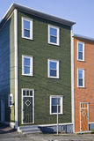 Houses in St. John's, Newfoundland Stock Photos