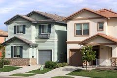 Houses in suburban neighborhood Royalty Free Stock Photography