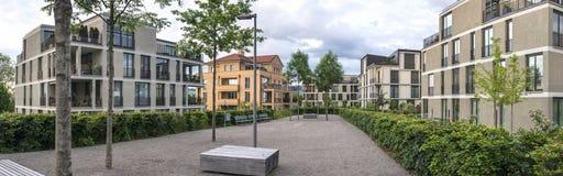 houses switzerland Arkivbilder