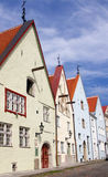 Houses in Tallinn's Old Town Stock Photography