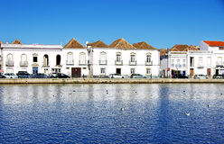 Houses at Tavira, Portugal Stock Photography