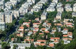 Houses in Tel Aviv Royalty Free Stock Image