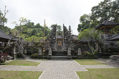 Houses temples in Ubud, Bali Royalty Free Stock Images
