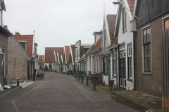 Houses on Texel Stock Photo