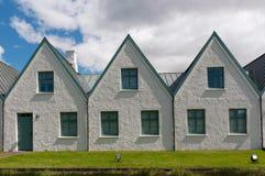 Houses in Thingvellir National park, Iceland Stock Photos
