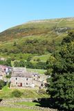 Houses in Thwaite, Swaledale, North Yorkshire Royalty Free Stock Photos