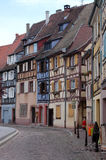 houses traditionella strasbourg Royaltyfria Bilder