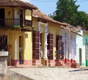 Houses in Trinidad, Cuba Stock Photo