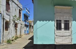 Houses of the Trinidad, Cuba Stock Image