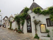 houses trulli Royaltyfria Bilder