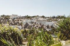 houses trulli Arkivbilder