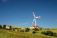 houses turbinwind Fotografering för Bildbyråer