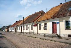 Houses in Tykocin Town, Poland Royalty Free Stock Photo