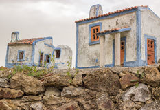 Houses Typical of José Franco village Royalty Free Stock Photo