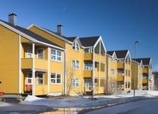 houses typiska norway royaltyfri bild