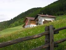 houses tyrolian Royaltyfria Foton