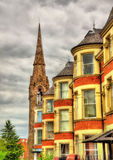 Houses on University stereet in Belfast Royalty Free Stock Photography