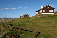 Houses in Ushuaia, Tierra del Fuego Stock Image