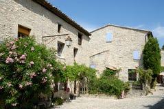 Houses in Vaison-la-Romain, France Stock Image