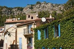 Houses in Vauvenargues France Stock Photo