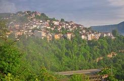 Houses of Veliko Tarnovo Royalty Free Stock Images
