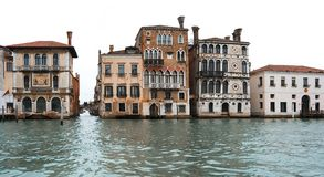 Houses of venice Stock Photography