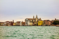 Houses in Venice Stock Photos