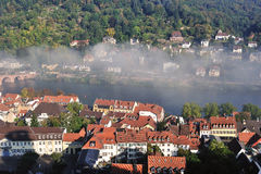 Heidelberg historical city in Germany Royalty Free Stock Photo