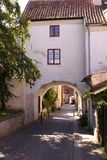 Houses in visby Stock Photo