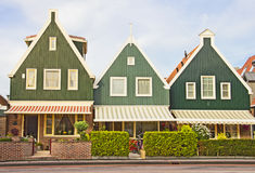 Houses in Volendam, Holland Royalty Free Stock Image