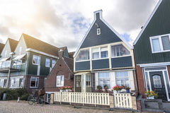 Houses in Volendam, Netherlands Stock Images