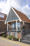 Houses in Volendam, Netherlands Royalty Free Stock Image