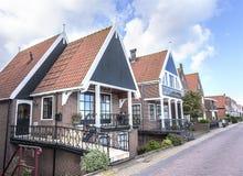 Houses in Volendam, Netherlands Stock Image