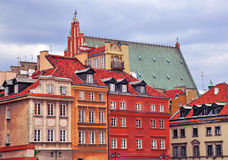 Houses of Warsaw Stock Photo