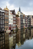 Houses on Water Stock Image