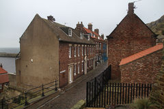 Houses in Whitby. Stock Photo