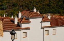 houses white Royaltyfri Fotografi