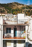 Houses in the white village of Mijas Stock Photography