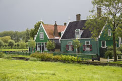 Houses at Zaanse Schans, Holland Stock Image