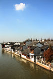 Houses in zhujiajiao Royalty Free Stock Photo