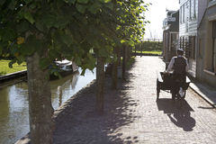 Houses at Zuiderzee museum Royalty Free Stock Photography