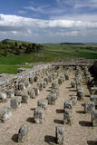 Housesteads Fort. Housesteads Roman Fort on Hadrians Wall Northumberland Stock Photography