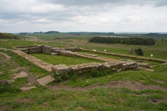 Housesteads Roman Fort, Hadrian's Wall. Northumberland Stock Images