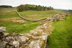 Housesteads Roman Fort, Hadrian's Wall. Northumberland Stock Photography