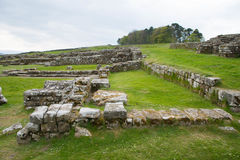 Housesteads Roman Fort, Hadrian's Wall. Northumberland Royalty Free Stock Photo