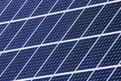 Housetop with solar Royalty Free Stock Photos