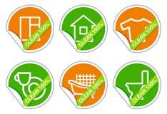 Houseware icons Royalty Free Stock Photos