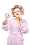 Housewife-20 Royalty Free Stock Images